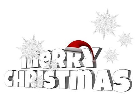 Merry Christmas, Frohe Weihnachten